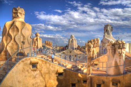 Mimar Gaudi'nin Barcelonası