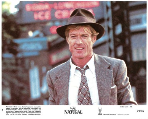 Robert Redford from The Natural