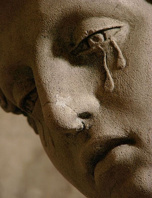 Statue With Tears