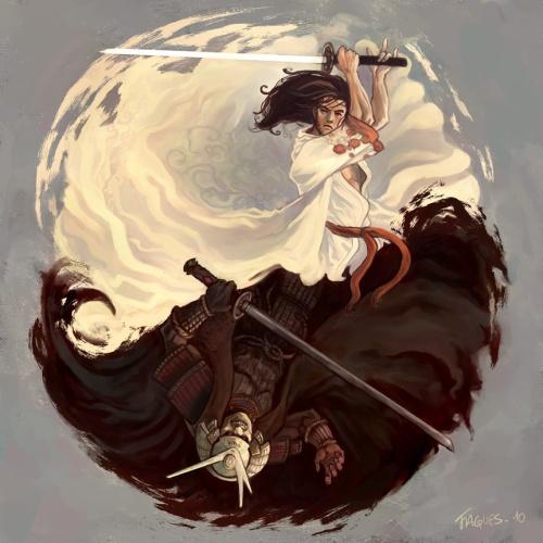 Yin & Yang by Fallen Eye