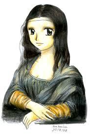 Monalisa Manga Style by Nisai