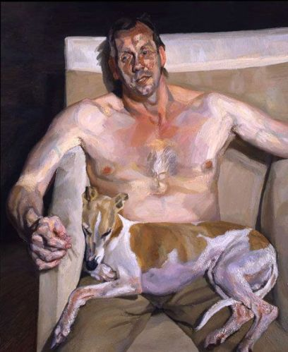 Eli & David by Lucian Freud