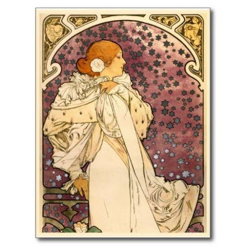 Kamelyalı Kadın - Alphonse Mucha