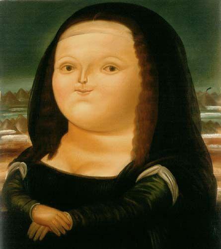 Botero's Monalisa