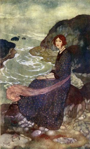 Abyss of Time by Edmund Dulac