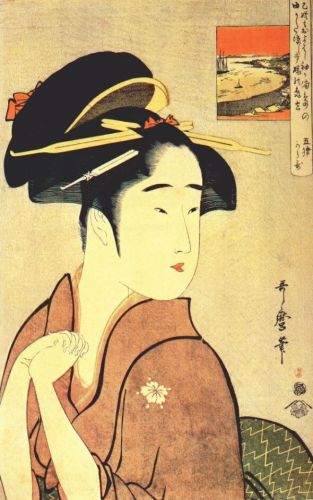 by Utamaro Kitagawa